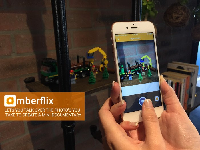 Amberflix Lets You Talk Over The Pictures You Snap To Tell A Story